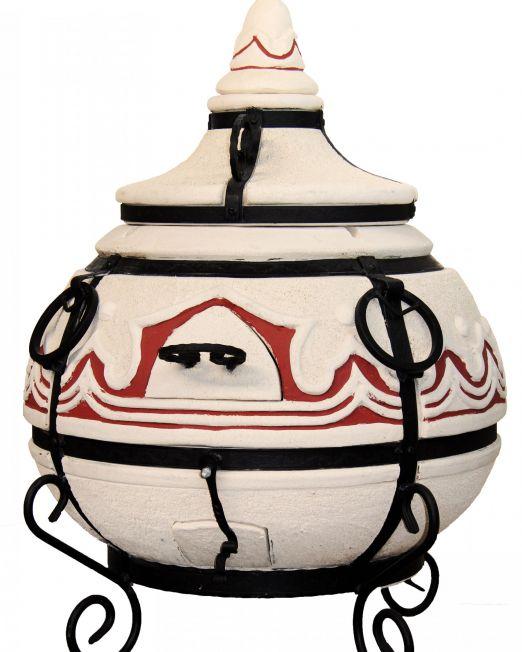 Amphora-Tandoors-Tandoor-Orient-mit-Klappdeckel-Hinged-Lid
