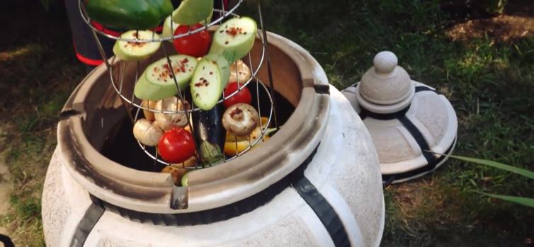 Tandoor-Gemüse-Amphora-Tandoors